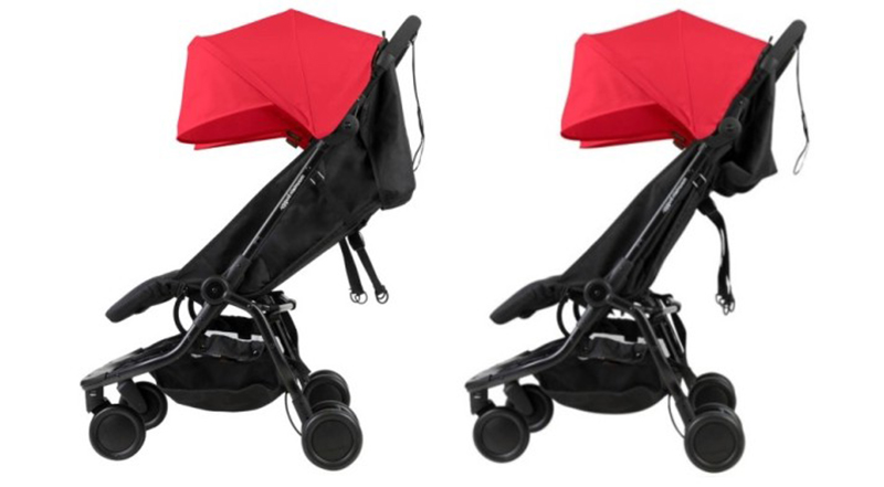 carro gemelar Mountain Buggy Nano Duo